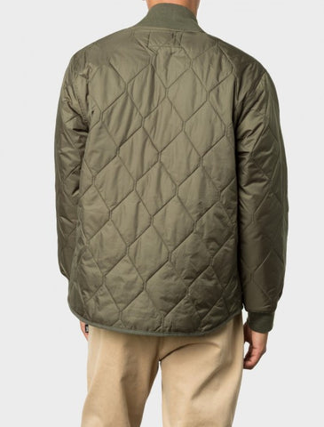 Stussy - Quilted Military Jacket - Olive