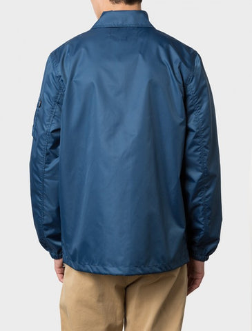 Stussy - Flight Satin Coaches Jacket - Navy