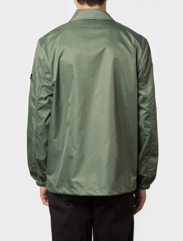 Stussy - Flight Satin Coaches Jacket - Olive