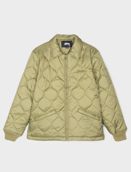 Stussy - Quilted Work Jacket - Olive