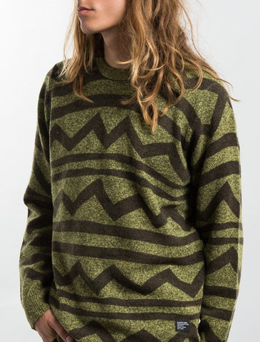 Stussy - Tom Tom Sweater - Olive