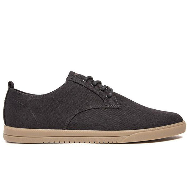 Clae - Ellington Textile - Black Waxed Canvas