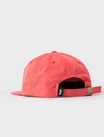 Stussy - Washed Nylon Strapback Cap - Red