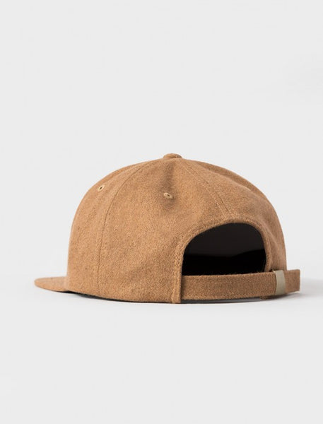 Stussy - Smooth Stock Melton Strapback - Camel