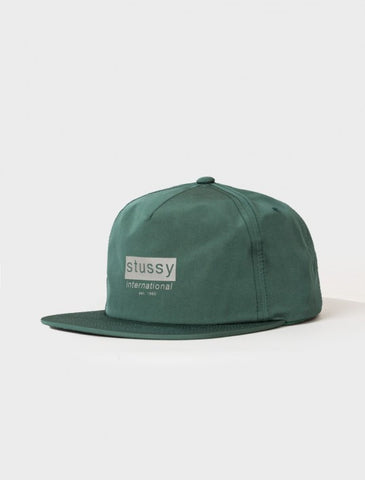 Stussy - Reflective Tape Cap - Teal