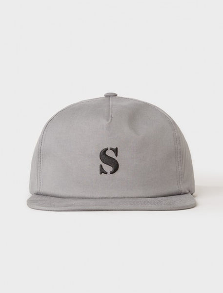 Stussy - Bio Washed Cotton Snapback - Grey