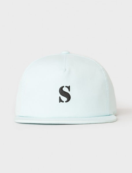 Stussy - Bio Washed Cotton Snapback - Light Blue