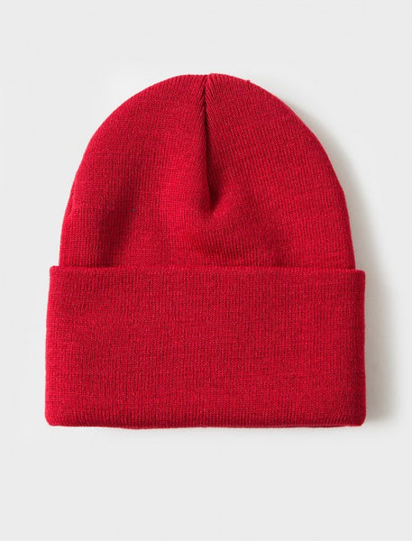 Stussy - Stock Holiday 15' Cuff Beanie - Red