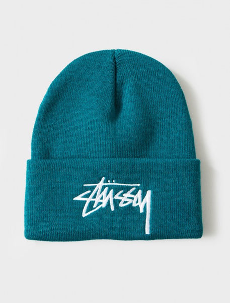Stussy - Stock Holiday 15' Cuff Beanie - Teal