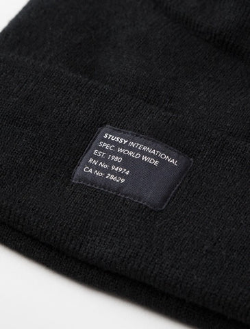 Stussy - Watch Cap Beanie - Black
