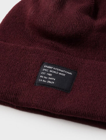 Stussy - Watch Cap Beanie - Red