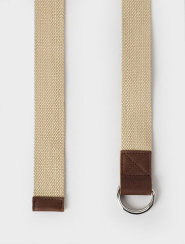 Stussy - Pigment Dyed D-Ring Belt - Beige