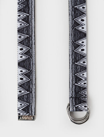 Stussy - Tom Tom Jacquard D-Ring Belt - Black