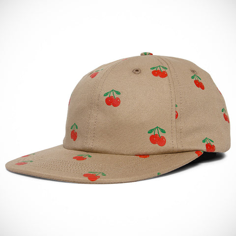 Acapulco Gold - Cherry 6 Panel Cap - Khaki