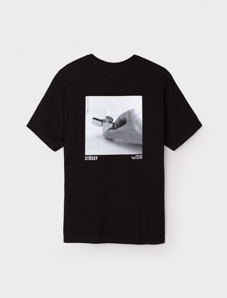 Stussy - Catch A Fire Tee - Black