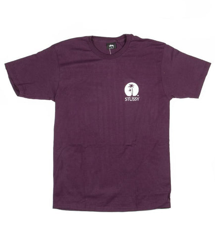 Stussy - Sundown Tee - Grape