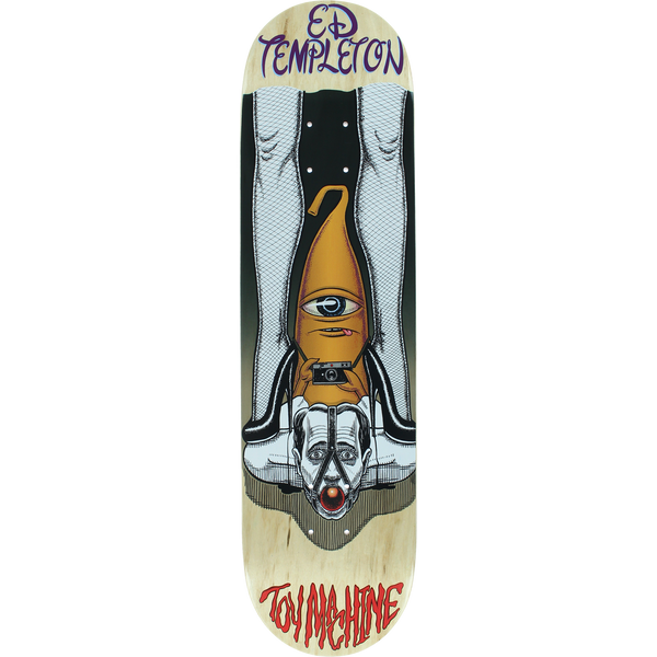 "Toy Machine - Templeton Peeping Toy Deck 8"" - Multi"
