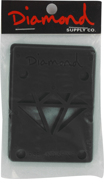 "Diamond - 1/8"" Riser Pads - Black"