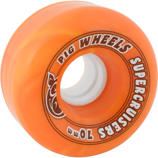 Pig Wheels - Supercruiser Wheels - Orange