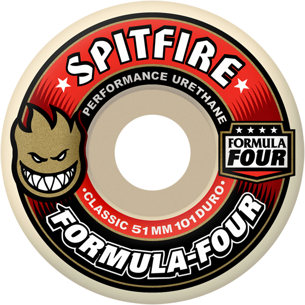 Spitfire - Formula 4 101d Classic - White/Red