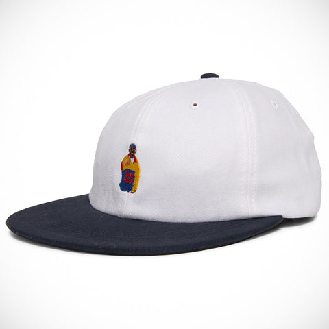 Acapulco Gold - Chef 6 Panel Cap - White