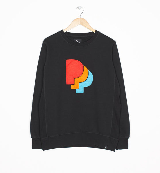 By Parra - Crewneck Sweater PPParra - Black