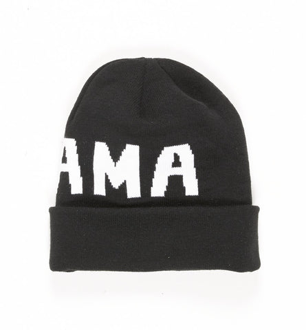 By Parra - Knitted Beanie Drama - Black