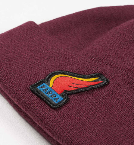 By Parra - Wings Beanie - Eggplant
