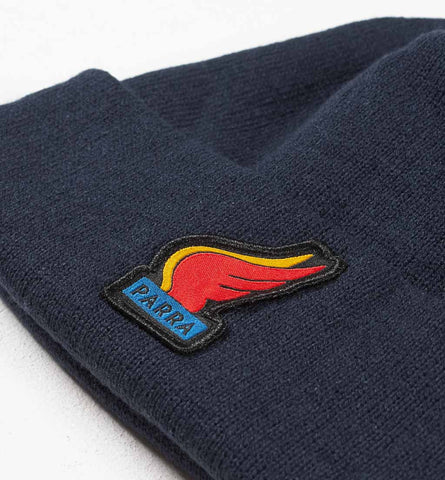 By Parra - Wings Beanie - Navy