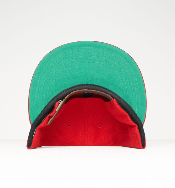 By Parra - College P 6 Panel Hat - Red