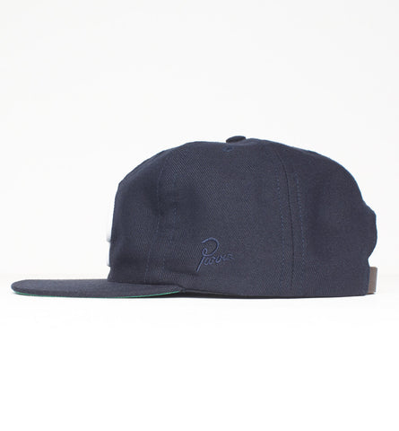 By Parra - College P 6 Panel Hat - Navy Blue