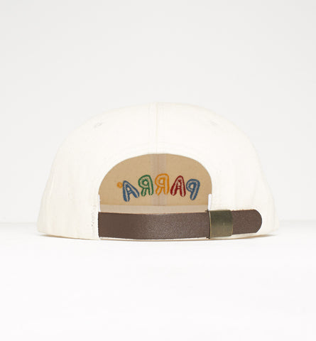 By Parra - 6 Panel Hat Toy Logo - Off White