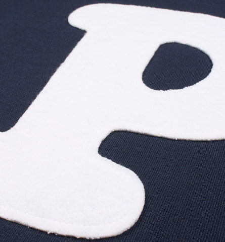 By Parra - P-ARRA Crewneck Sweater - Navy Blue