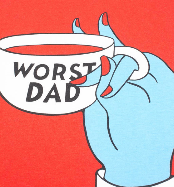 By Parra - Worst Dad T-Shirt - White