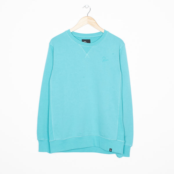 By Parra - Parra Tonal Crewneck Sweater - Baltic