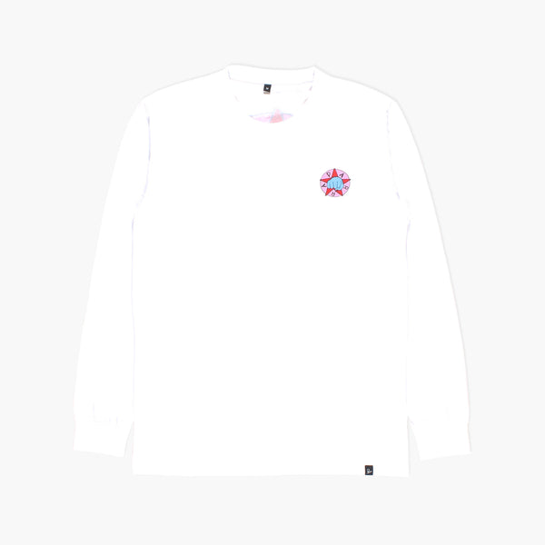 By Parra - Party L/S T-Shirt - White