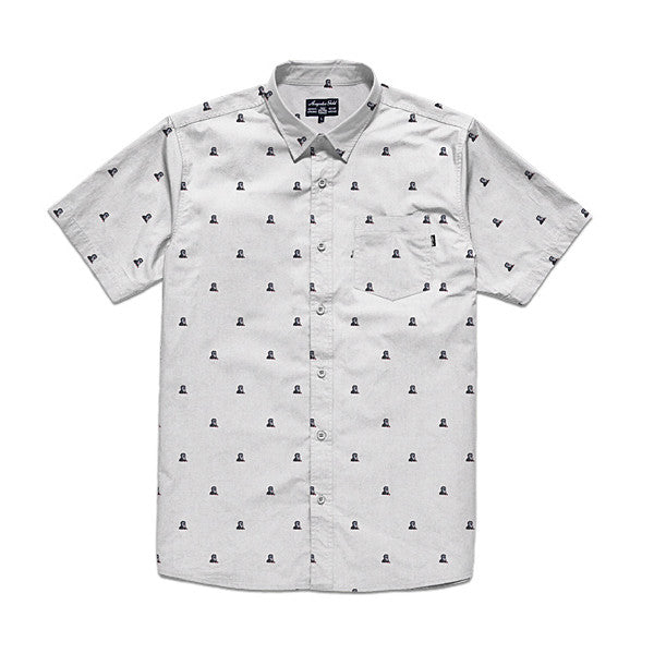 Acapulco Gold - Mandril S/S Button Down - White