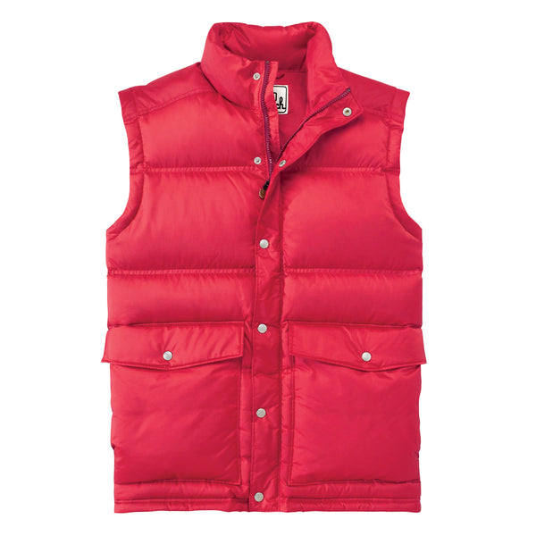 Woolrich White Label - Sierra Down Vest - Red