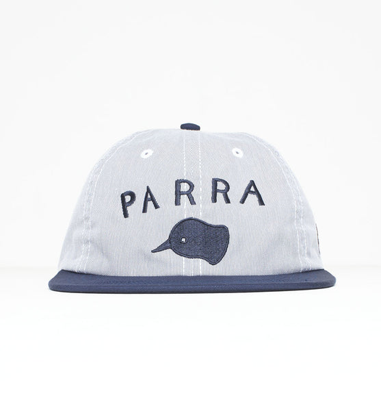 By Parra - Beak Knob 6 Panel Cap - Navy Pincord