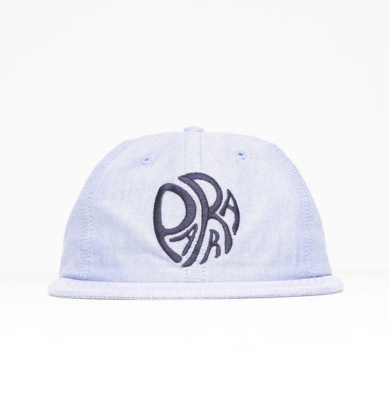 By Parra - Trip 6 Panel Cap - Blue Oxford