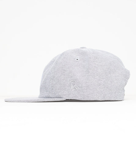 By Parra - Trip 6 Panel Cap - Black Oxford
