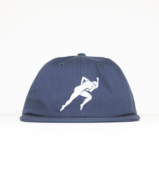 By Parra - Lust 6-Panel Hat - Navy Blue