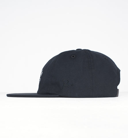 By Parra - Eye 6 Panel Hat - Black