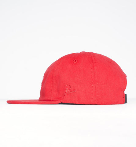 By Parra - Eye 6 Panel Hat - Red