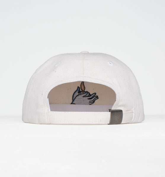 By Parra - Flame Holder 6 Panel Hat - Off White