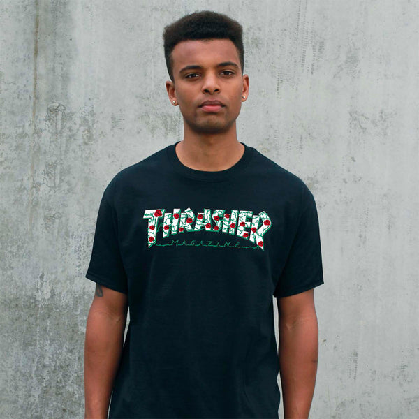 Thrasher - Roses Tee - Black