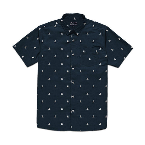 Acapulco Gold - Mandril S/S Button Down - Navy