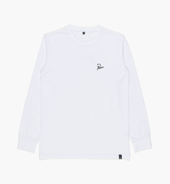 By Parra - The Joy Inside Long Sleeve Shirt - White