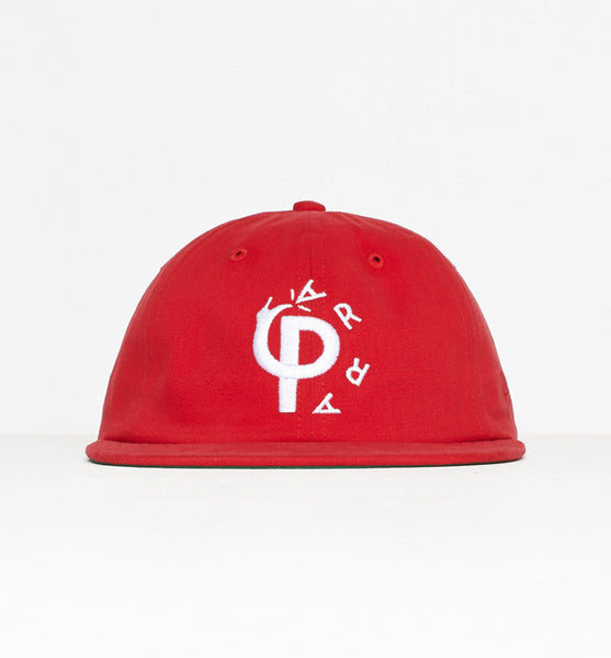 By Parra - Stomp 6-Panel Hat - Red