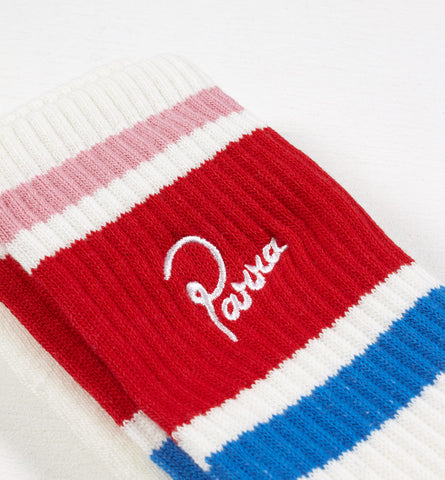 By Parra - Crew Socks - White